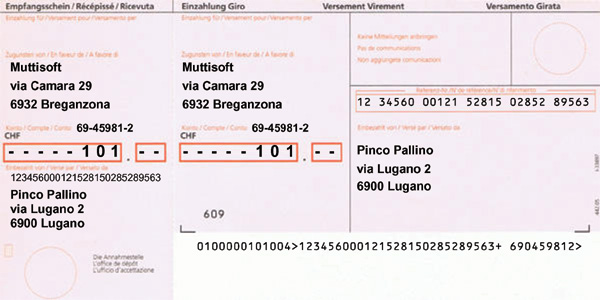 Inpayment Print Muttisoft – Payment Slips